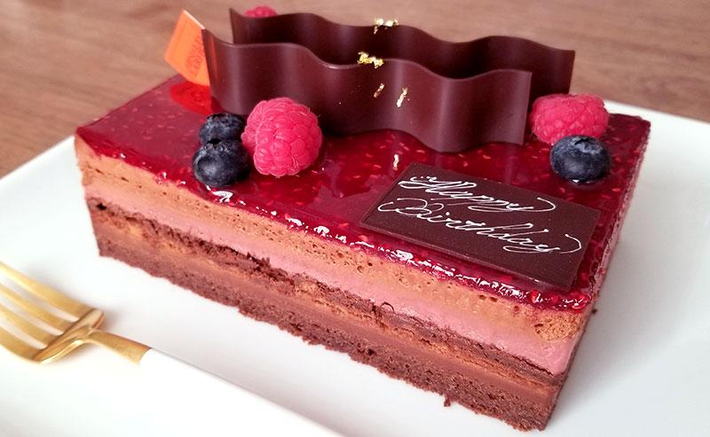 アルノー・ラエール パリ チョコケーキ モンテクリスト