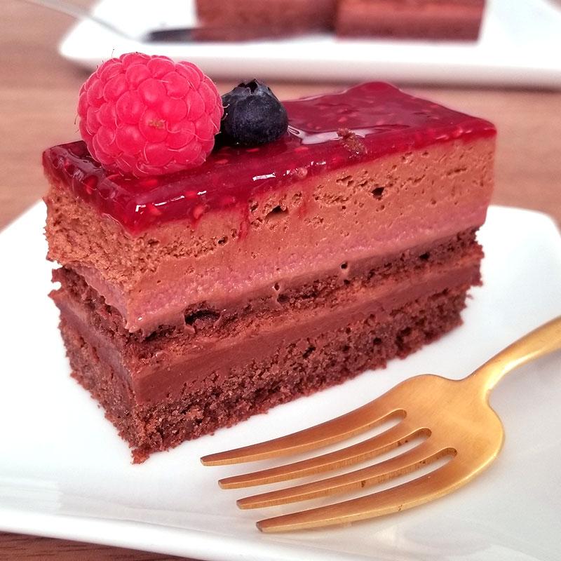 アルノー・ラエール パリ チョコケーキ モンテクリスト 1ピース