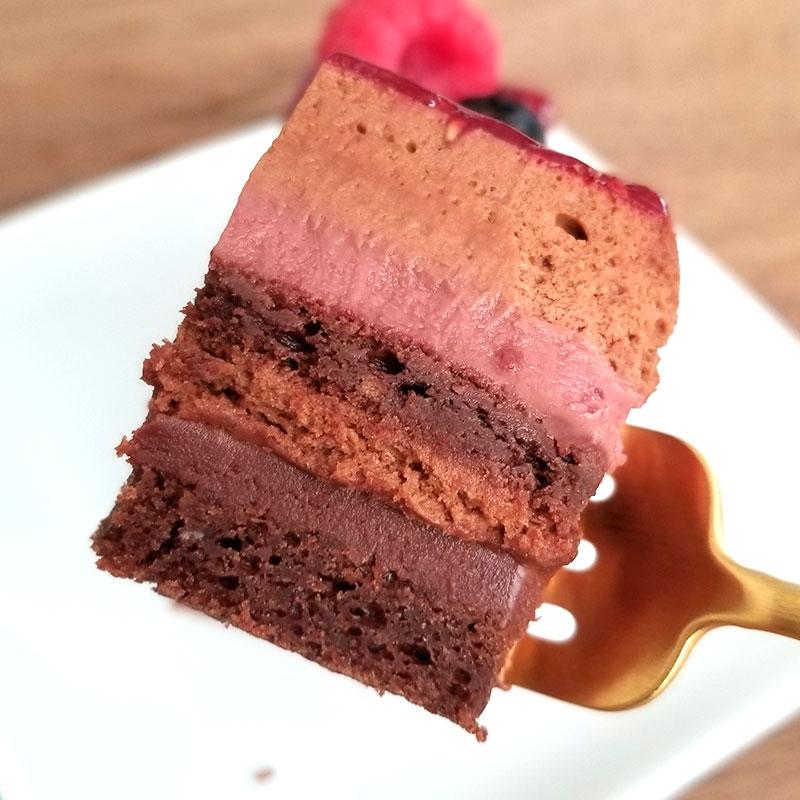 アルノー・ラエール パリ チョコケーキ モンテクリスト 食べた感想