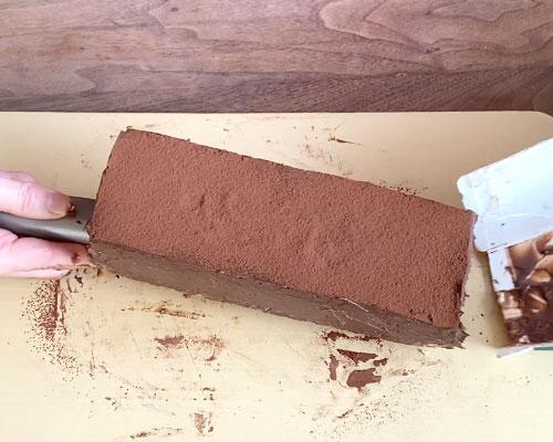 濃厚生チョコケーキのレシピ・作り方-6