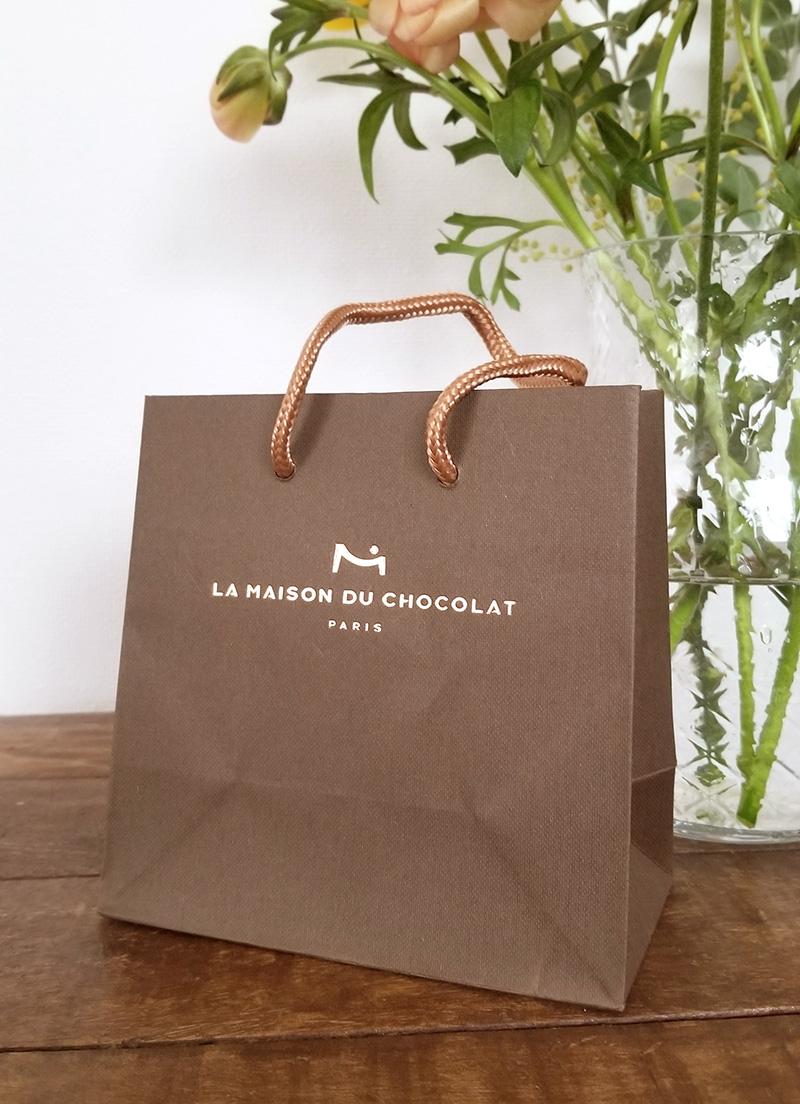 紙袋 「ラ・メゾン・デュ・ショコラ アタンション 6粒入」を食べた感想