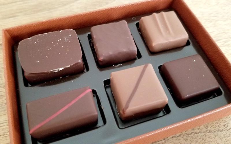 「ラ・メゾン・デュ・ショコラ アタンション 6粒入」を食べた感想