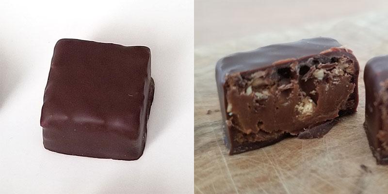 TRAVIATA(トラビアータ)「ラ・メゾン・デュ・ショコラ アタンション 6粒入」を食べた感想
