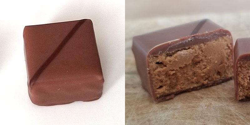 RIGOLETTO LAIT(リゴレット レ)「ラ・メゾン・デュ・ショコラ アタンション 6粒入」を食べた感想
