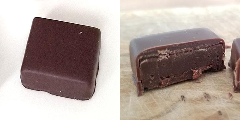 AKOSOMBO(アコソンボ)「ラ・メゾン・デュ・ショコラ アタンション 6粒入」を食べた感想