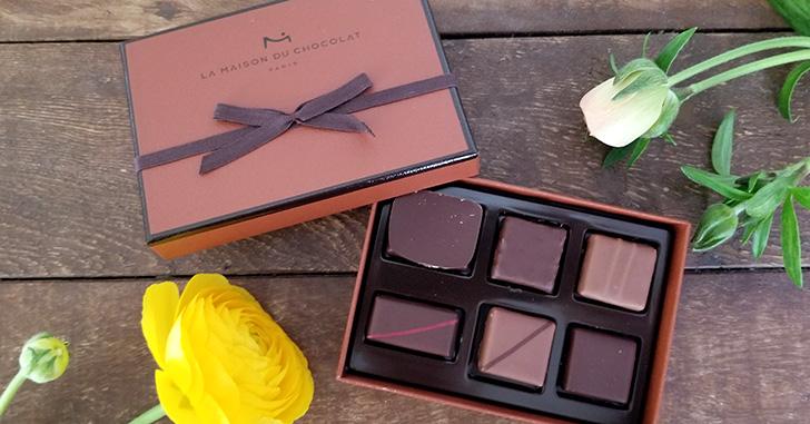 フランスの最高峰チョコブランド「ラ・メゾン・ド・ショコラ アタンション 6粒入」を食べた感想