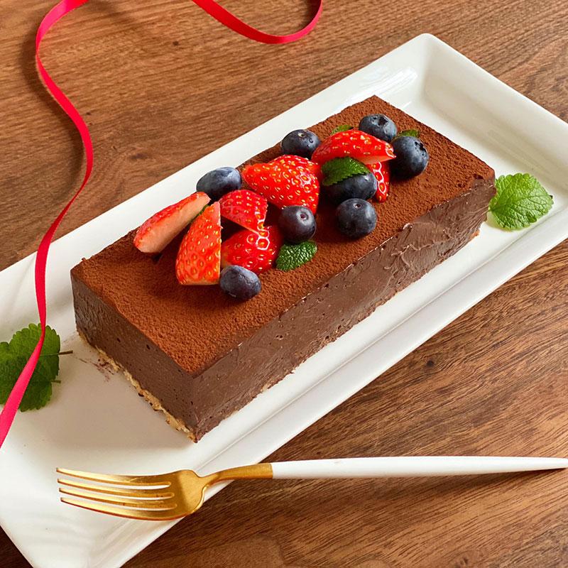 濃厚生チョコケーキのレシピ・作り方
