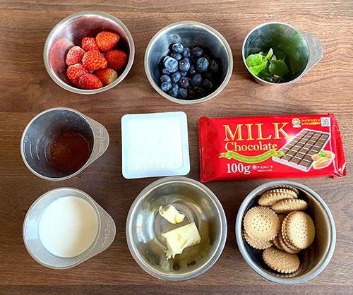 濃厚生チョコケーキのレシピ・作り方 材料