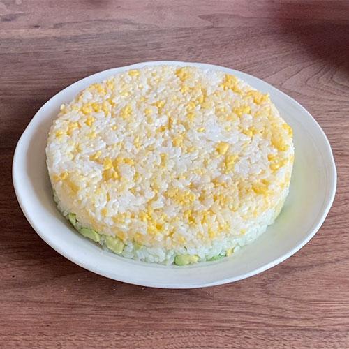 ローストビーフの洋風ちらし寿司ケーキ 作り方-4