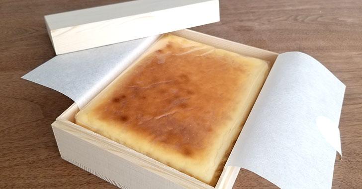 「武蔵野茶房 特製焼チーズケーキ」を食べた感想