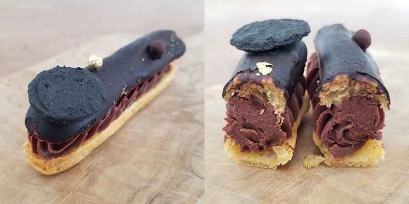 ルワンジュ東京・エクレアートショコラプレミアム 食べた感想 チョコレートトリュフ