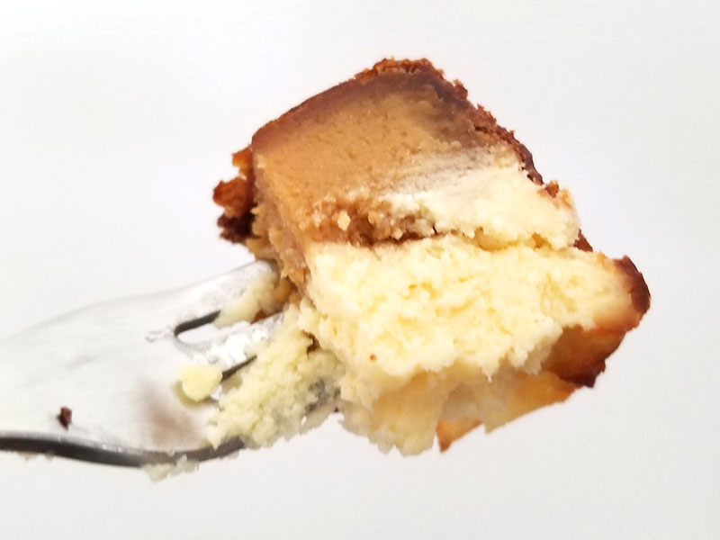 蜜芋バスクチーズケーキ 食べてみた感想