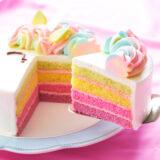 女の子に人気の誕生日ケーキ「ゆめかわレインボーユニコーン」をレビュー!