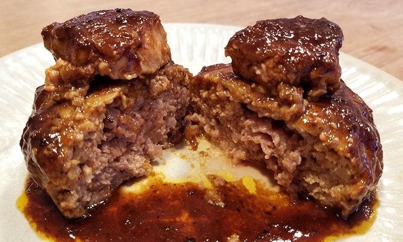 ロッシーニ風ハンバーグを食べた感想