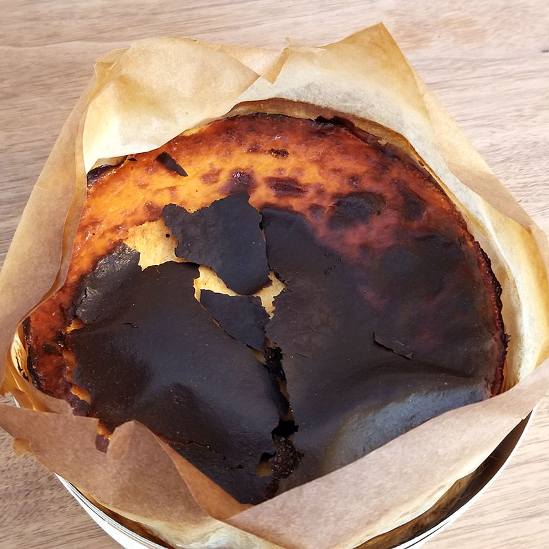 Sincere(シンシア)の通販バスクチーズケーキ 上表面