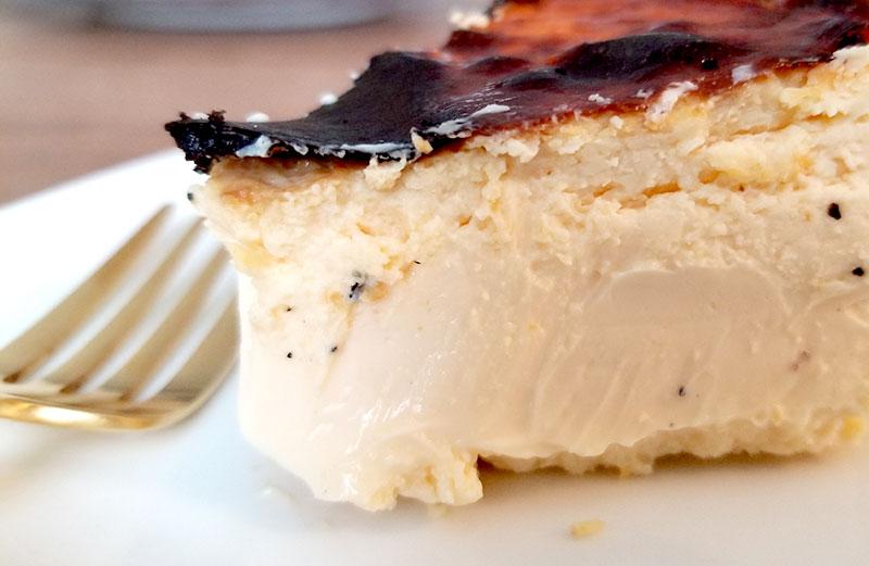 Sincere(シンシア)の通販バスクチーズケーキ 食べた感想