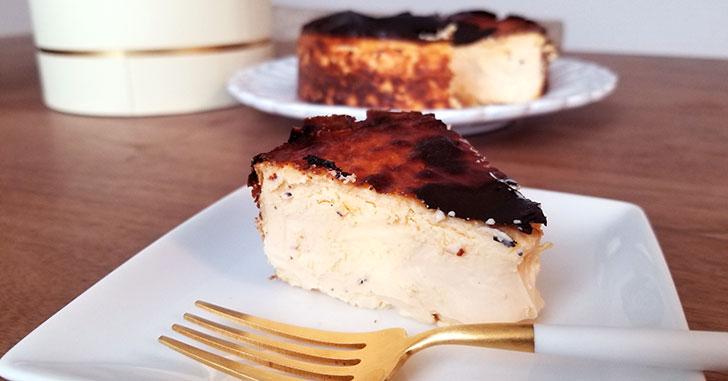 Sincere(シンシア)の通販バスクチーズケーキを食べた感想