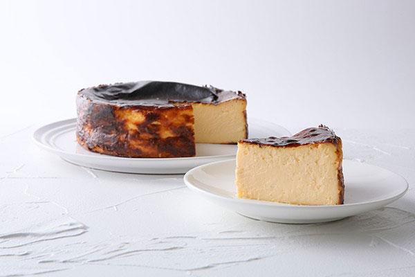 1日5個限定 Sincereの絶品バスクチーズケーキ