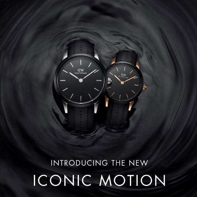 ダニエル ウェリントン「ICONIC MOTION」