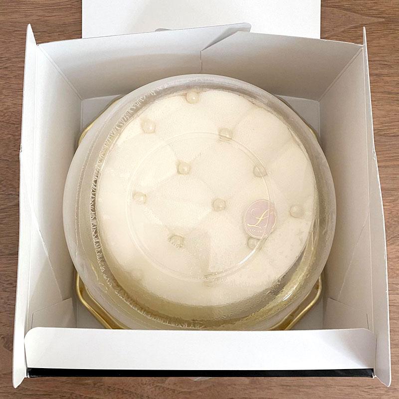 ルワンジュ東京の真っ白なチーズケーキ「マトラッセブラン」お取り寄せ・食べた感想・レビュー・口コミ