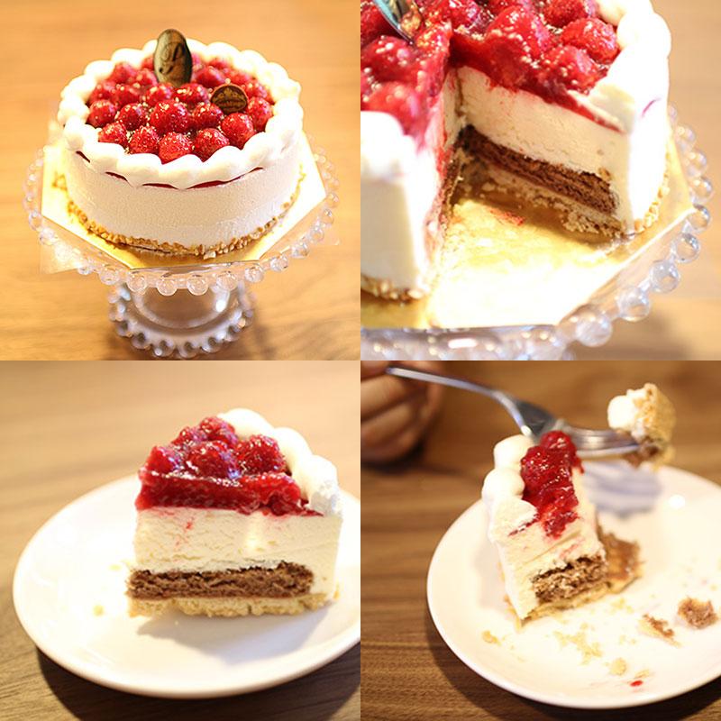 シュス木苺レアチーズケーキ 洋菓子店カサミンゴー