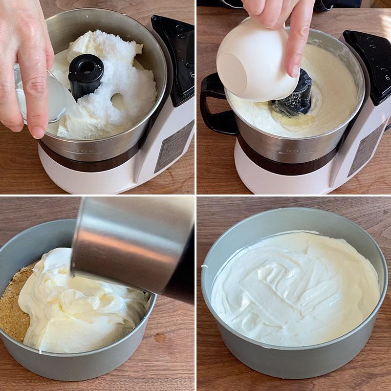 マンゴーレアチーズケーキの作り方-3