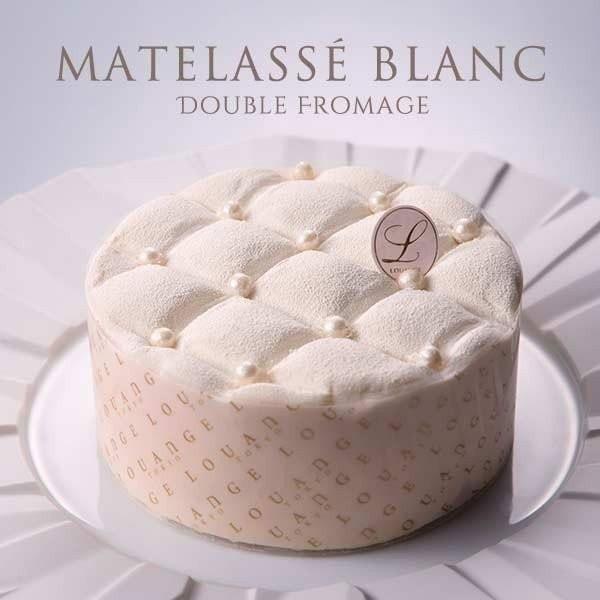 シャンパンレモンクリームがアクセントの ドゥーブルフロマージュ MATELASSE BLANC マトラッセブラン