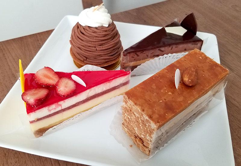 ピエールエルメの生ケーキ