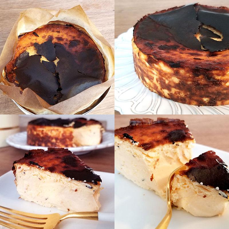 シンシアのバスクチーズケーキ 食べた感想
