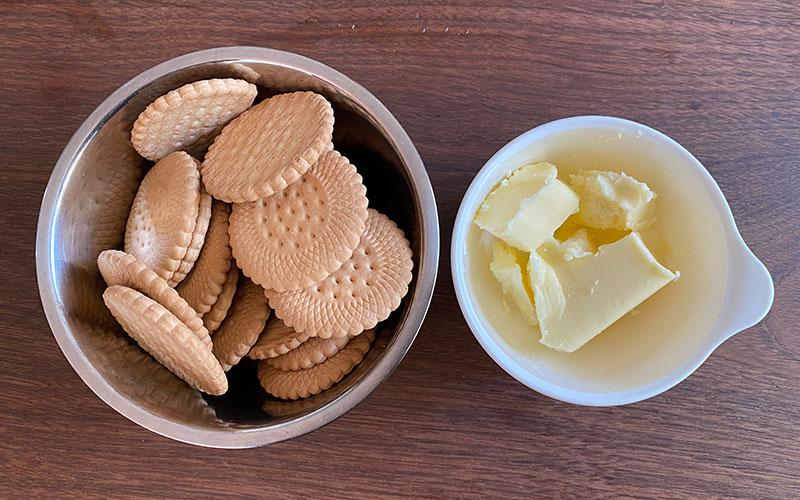 マンゴーレアチーズの材料-2