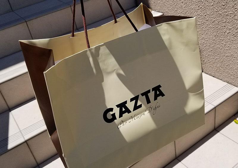 購入 紙袋 白金高輪「GAZTA(ガスタ)」の本家直伝バスクチーズケーキ