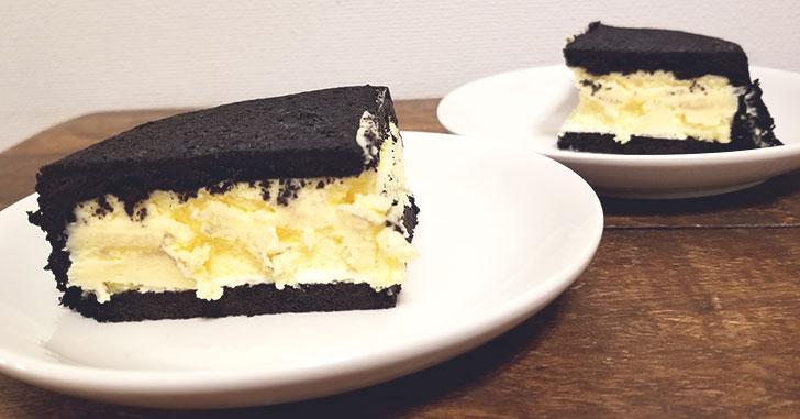 まっ黒チーズケーキ レビュー
