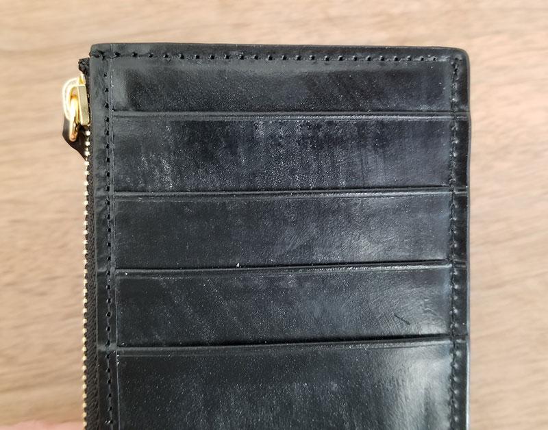 外側ポケット crafstoのブライドルレザーフラグメントケース