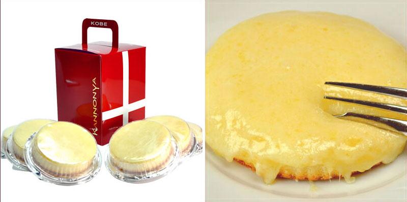 堂本剛のおすすめ「観音屋デンマークチーズケーキ」