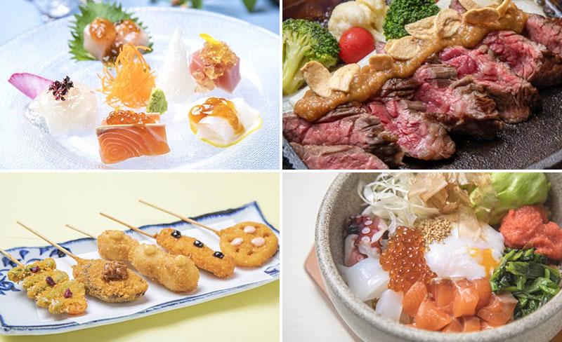 美食米門 横浜 料理イメージ