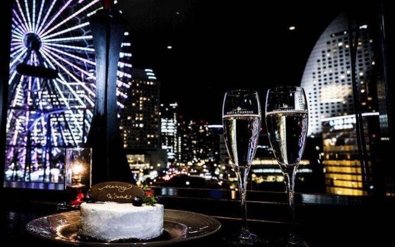 美食米門 横浜 夜景