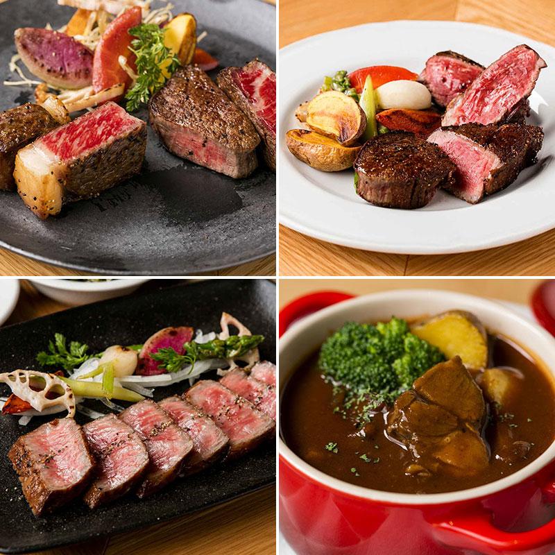 THE KINTAN STEAKの料理 肉 ステーキ