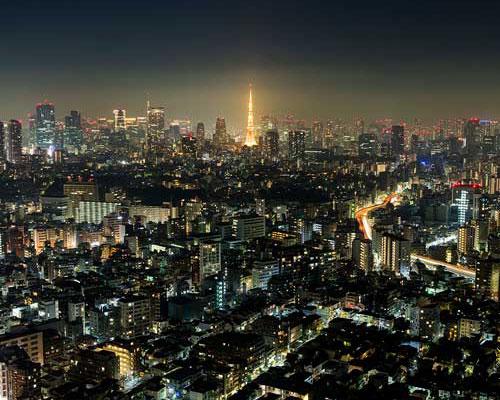 都会の景色を一望できるパノラマビュー