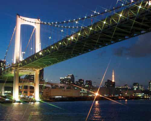 東京のシンボル夜景を一度に楽しめる