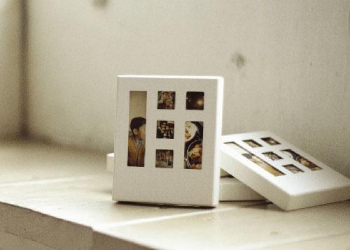 box(ボックス) ポラロイド風の箱入りフォトカード