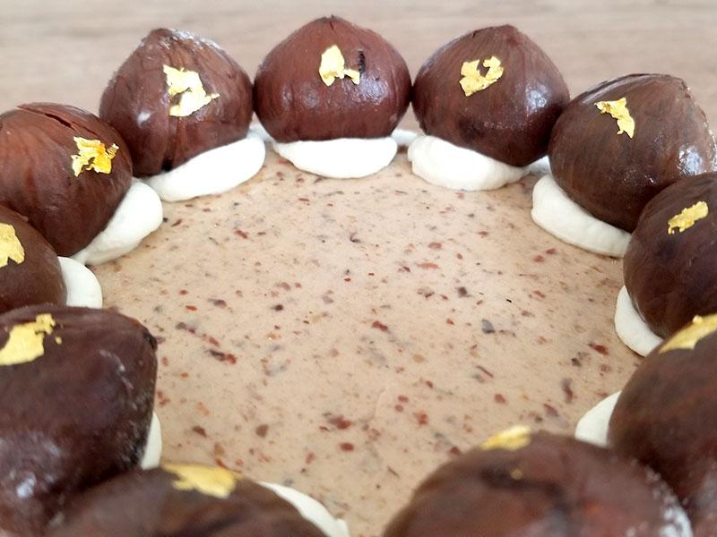 和栗専門店「和栗や」のケーキ「和栗のモンブランタルト」を食べた感想・口コミ
