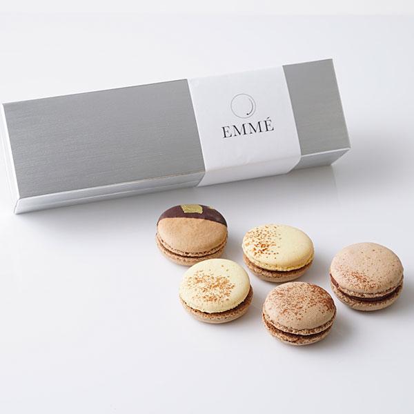 EMME / トリュフ香るマカロンショコラバリエ(5個入り)