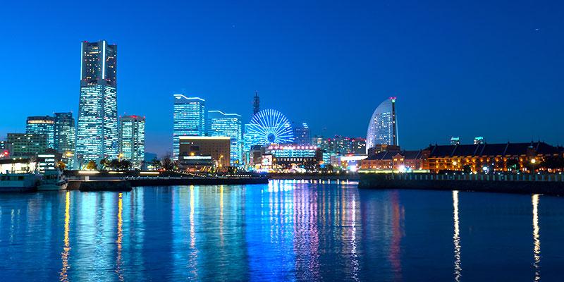 美しい夜景などの絶景が部屋から望めるホテル
