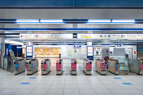 みなとみらい駅直結という最高のアクセス