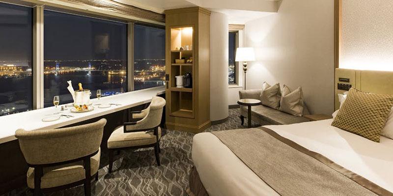 ホテルランキング 3位 横浜ロイヤルパークホテル