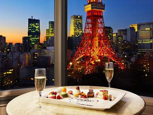 東京タワーの景色が楽しめる確約プラン