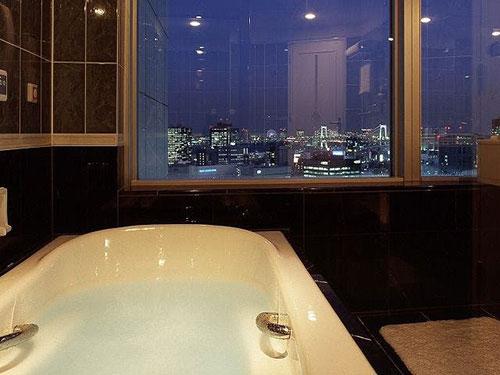 お風呂が自慢のお部屋