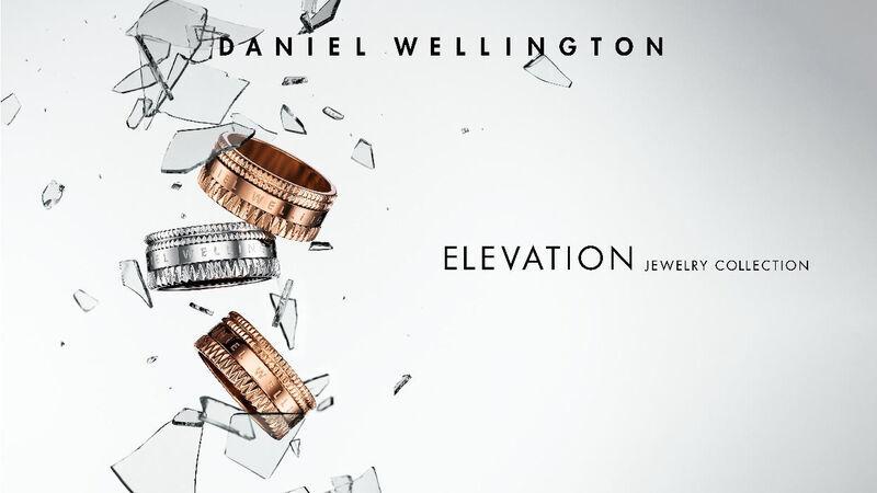 ダニエルウェリントンのアクセサリーコレクション「ELEVATION(エレベーション)」
