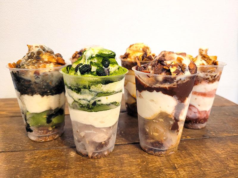 トゥッティフルッティの「無添加アイスパフェ6種類セット」を食べた感想