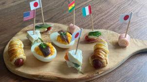 オリンピック観戦のおともに!つまんで食べられるピンチョス&フィンガーフード5品のレシピ・作り方